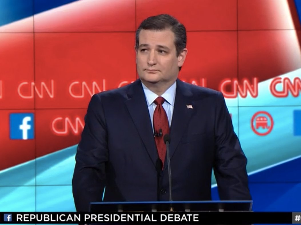 ted cruz cnn debate