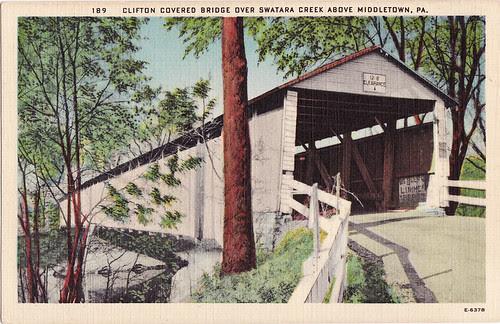 clifton covered bridge