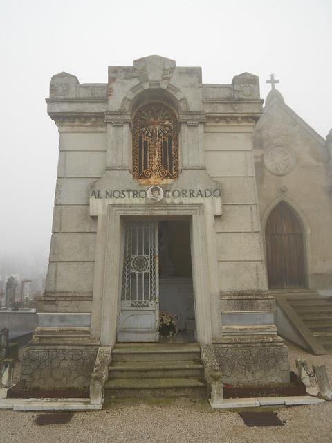 tomba della famiglia Trevisan, la tomba temporanea di Giacomo Matteotti, Fratta Polesine