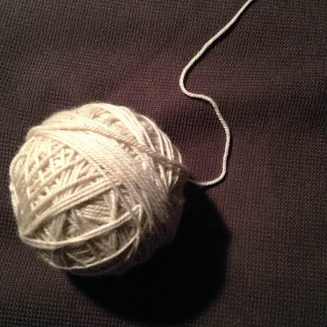 And done! It wasn't so bad after all. Still, I don't recommend a wet skein in the dryer...
