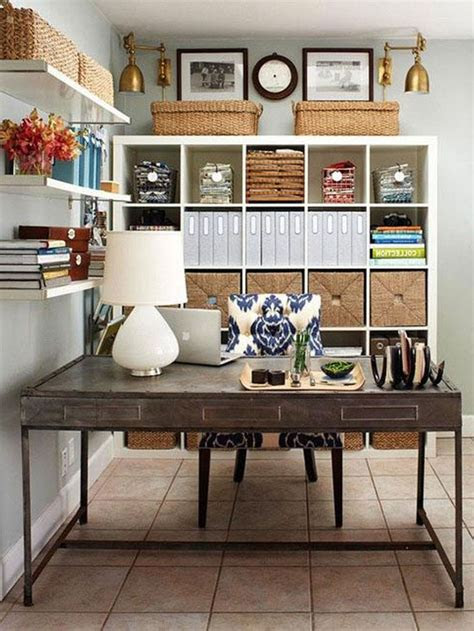 decorating chic small home office interior design