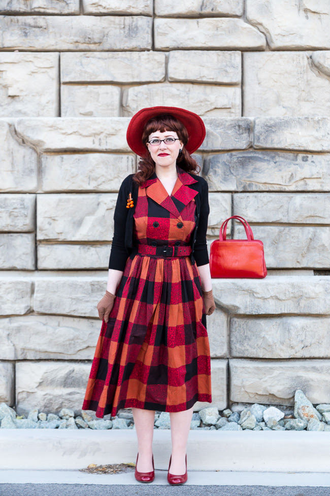 Chronically Vintage I Found My Dream 1950s Fall Dress