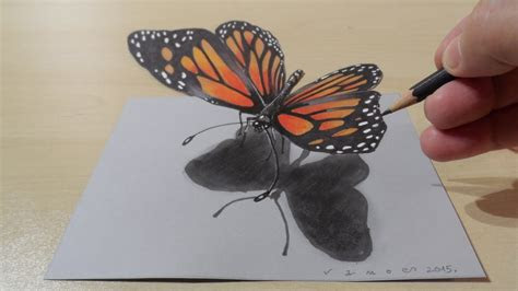 drawing butterfly   draw  butterfly magical art