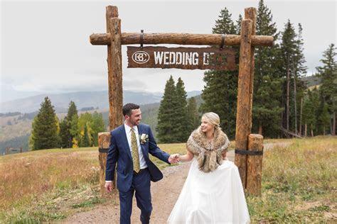 Beaver Creek Wedding Deck Ceremony   Charlotte and Jody