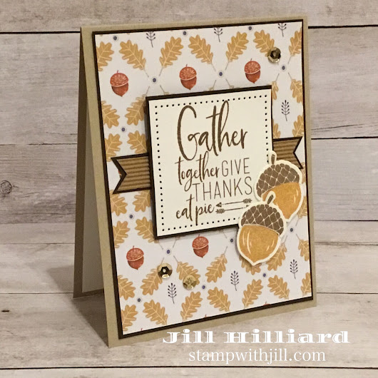 Handmade Autumn cards because Fall starts tomorrow! - Jill's Card Creations