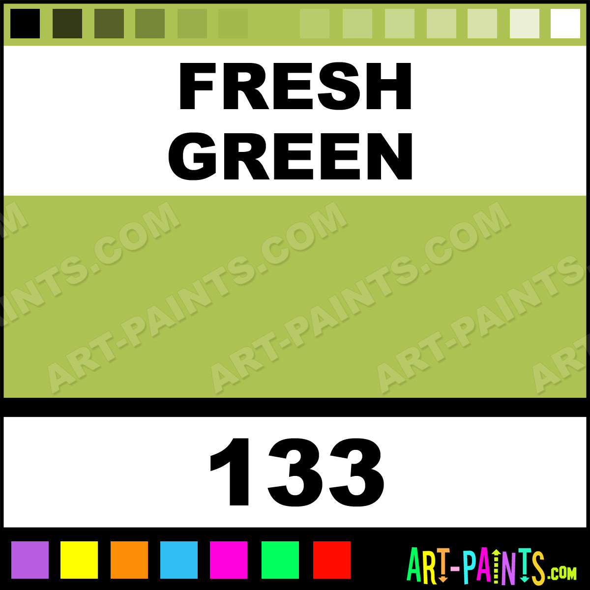 Fresh Green Just For Flowers Spray Paints 133 Fresh Green Paint