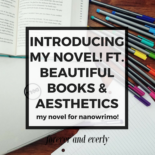 Introducing My Novel: The One With No Title!!! Or a Plot!!! Ft. Beautiful Books + Aesthetics + NaNoWriMo