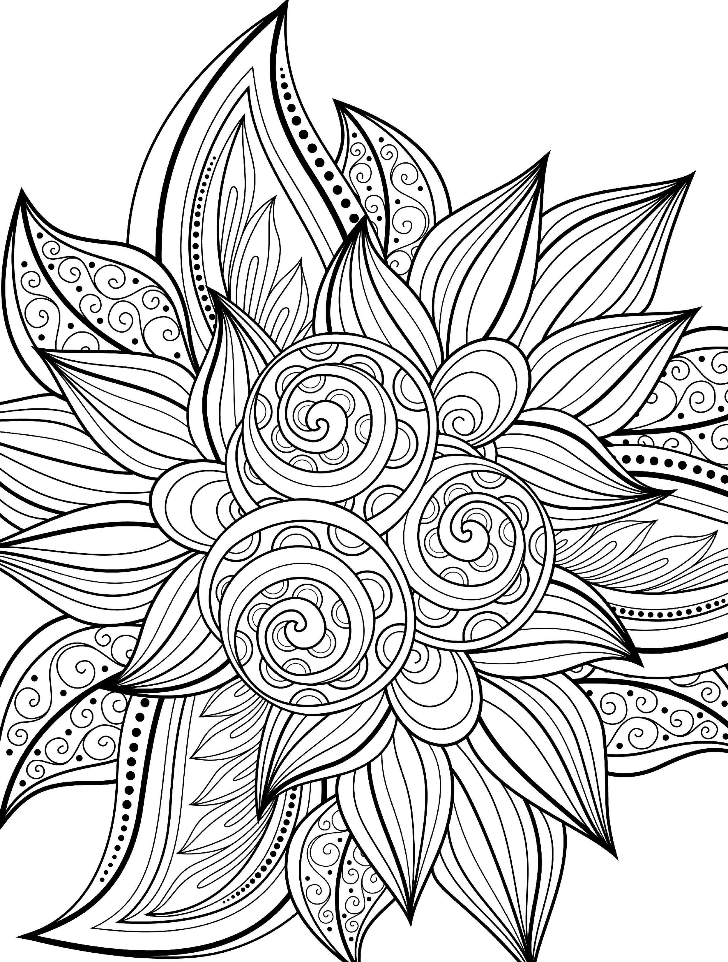 """This is """"Stormy Seas"""", a free printable coloring page from ..."""
