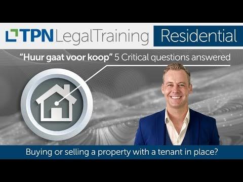 Huur Gaat Voor Koop - 5 critical questions answered