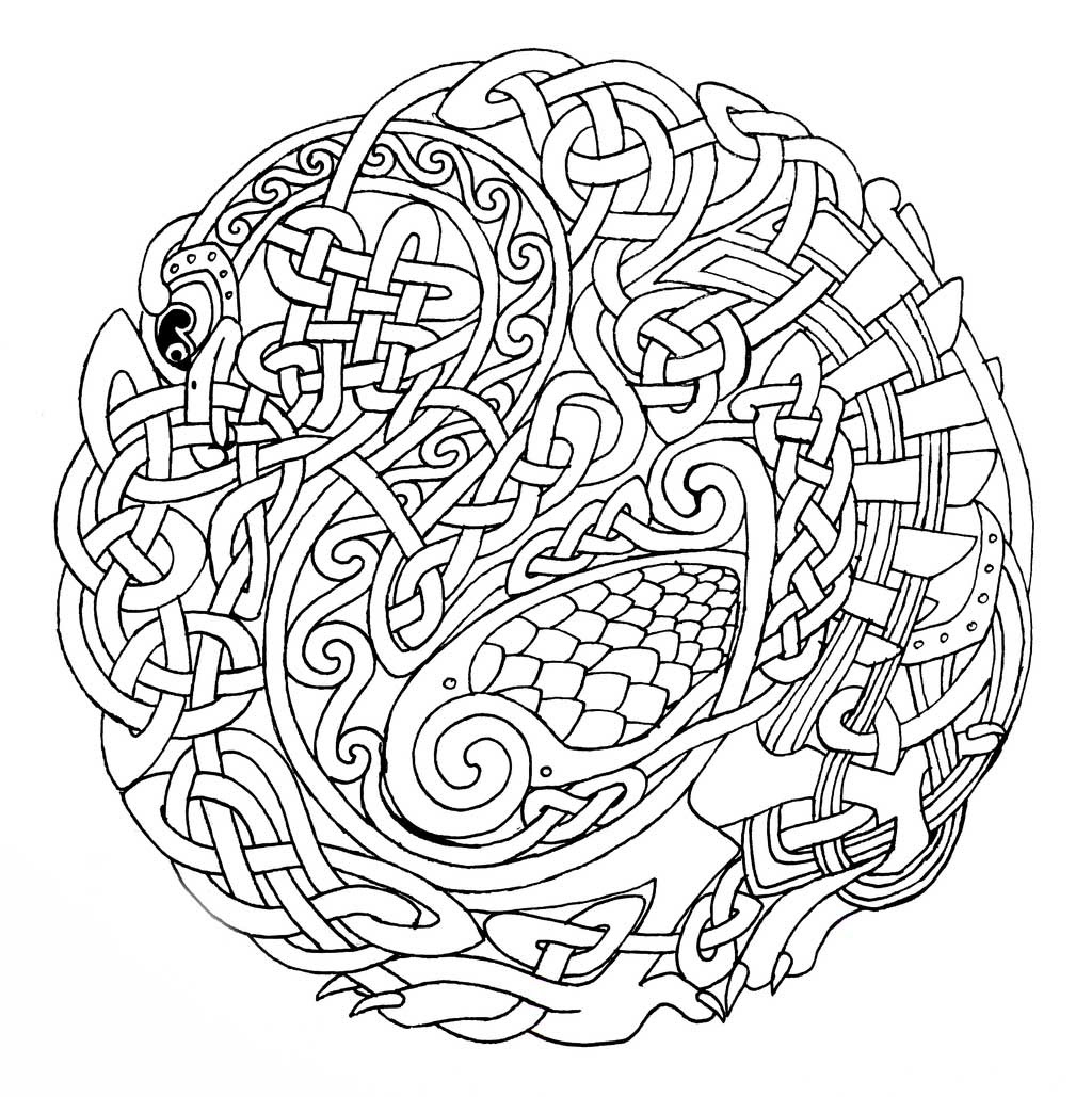 95 Top Intricate Christmas Coloring Pages  Images