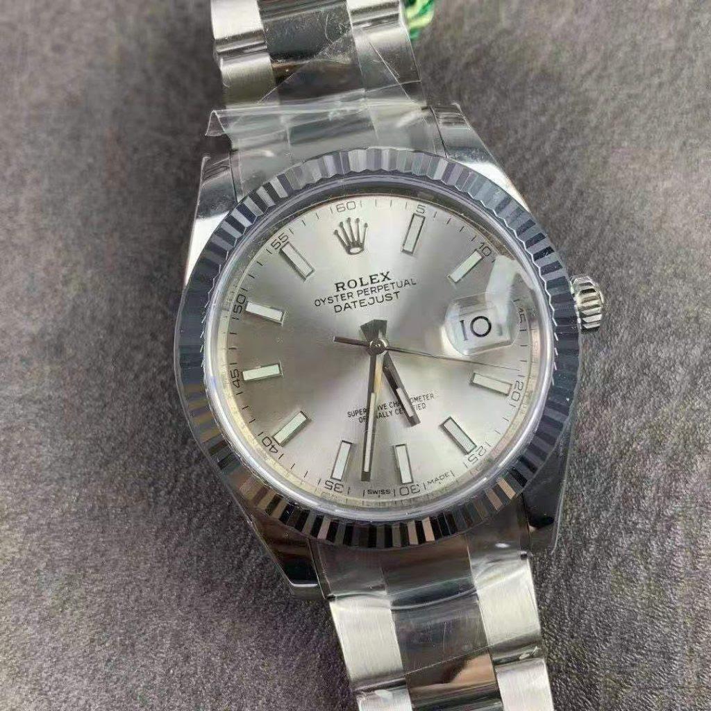 Replica Rolex Datejust 41mm Silver