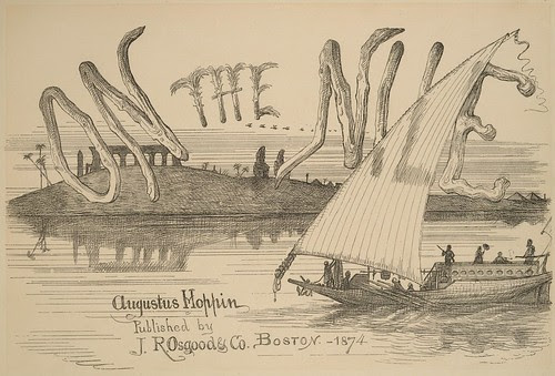 On the Nile - titlepage 1874