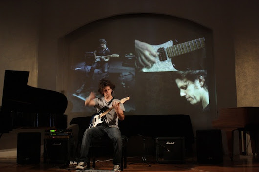 #video Michael Beil along for e-guitar and electronics on #neuguitar #blog