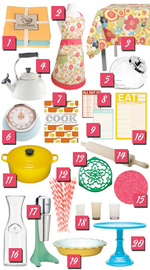 20 Kitchen Gift Ideas for the Retro Housewife