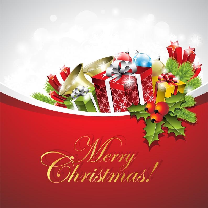 おしゃれなクリスマスカードデザインの無料イラスト Eps ベクター Ai