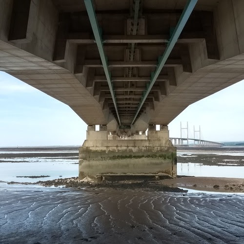 Under The M4 Severn Bridge 23rd June 2018 11:00 by BinauralDiaries Field Recording