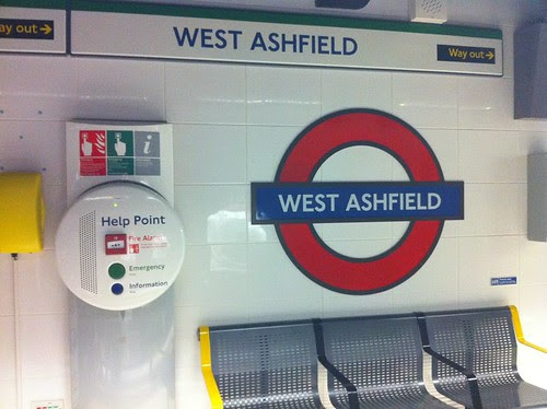 West Ashfield Tube by London Reconnections