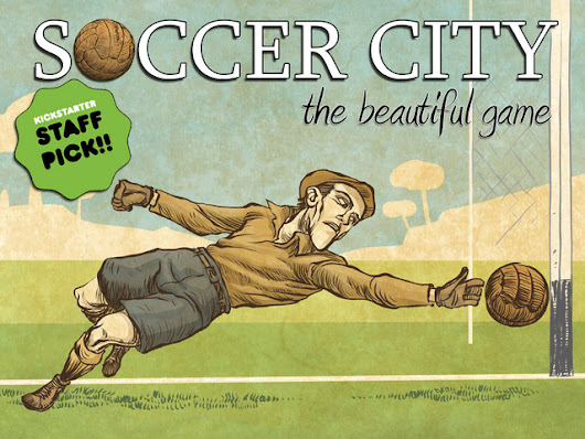 SOCCER CITY, the beautiful game