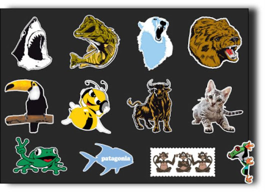 Animals Stickers at Print Plus