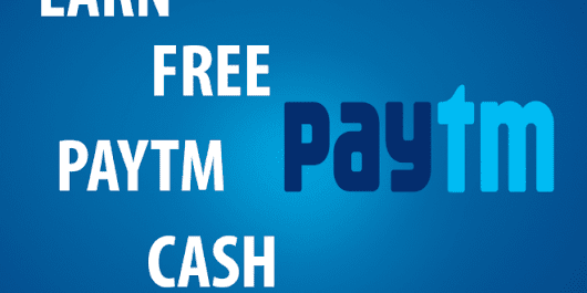 Earn Unlimited Free Paytm Cash From Your Android Device