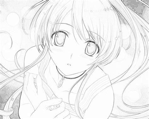 random anime girl  art  haddisdeviantartcom