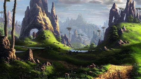 fantasy landscape wallpaper  pictures