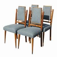 (4) Mid Century Modern Italian Dining Chairs | eBay