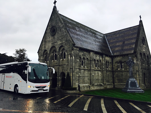 Reaney's Travel Ireland at Glasnevin Cemetery. - Reaney's Bus & Coach Hire Galway
