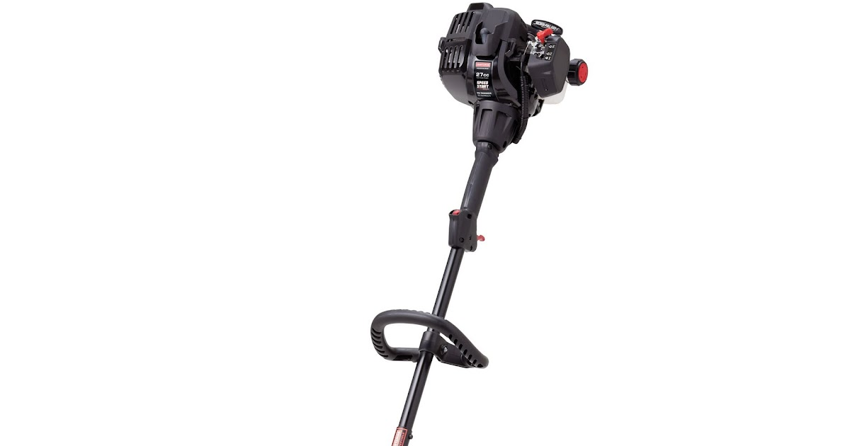 Craftsman 27cc 2-Cycle Curved Shaft WeedWacker Gas Trimmer