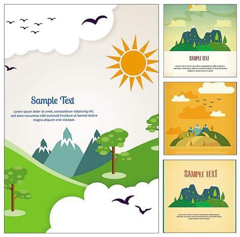 Travel postcard illustration vector   Free download