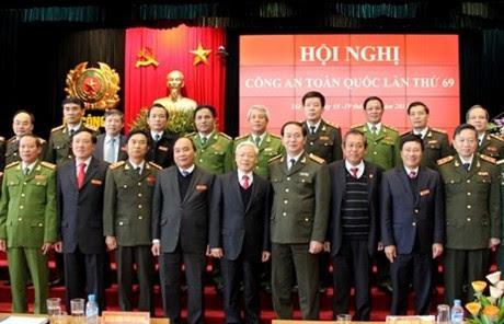 Bộ trưởng Bộ Công an Trần Đại Quang, quyết liệt, phá án, tham nhũng, Dương Chí Dũng