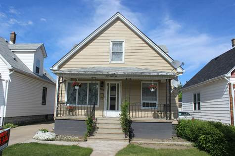 Home for Sale in Old Walkerville, Windsor, Ontario $117,900