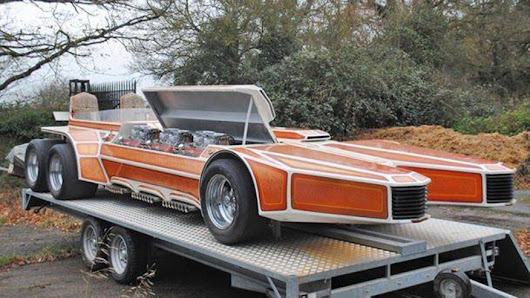 1975 George Barris SnakePit with 6 Ford V-8s surfaces for sale