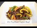 Resepi Daging Masak Black Pepper Maggi