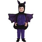 Underwraps UR25981TMD Toddler's Bat Belly Babies Costume, Black/Purple, 18-24 Months