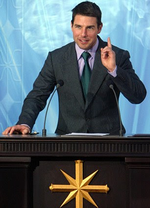 Follower: Hollywood superstar Tom Cruise has been a Scientologist since the early 1990s
