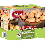 Katz Gluten Free Glazed Donut Holes [Case of 6]