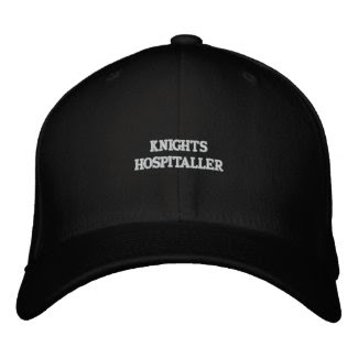 Knights Hospitaller Hat embroideredhat