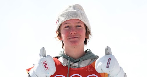 1st Gold Metal, Red Gerard, USA Congratulations Red! Snowboard..