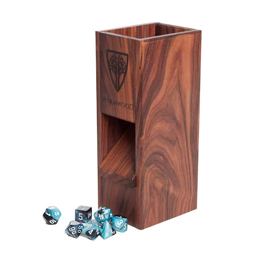 Bolivian Rosewood Dice Tower