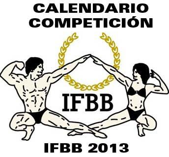 Calendario de competición IFBB 2013