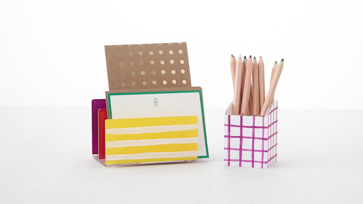 10 Colorful Ways to Organize Your Office