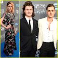 Stranger Things' Dacre Montgomery & Joe Keery Hit Critics' Choice Awards 2018 Dacre Montgomery and...