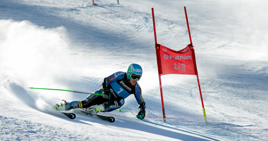 Ted Ligety has practically invented a new way of skiing