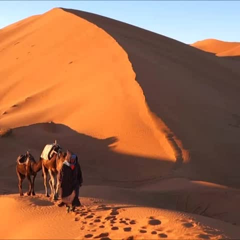 Erg Chebbi Dunes, #Sahara Desert #Morocco #travel #6secondsofcalm