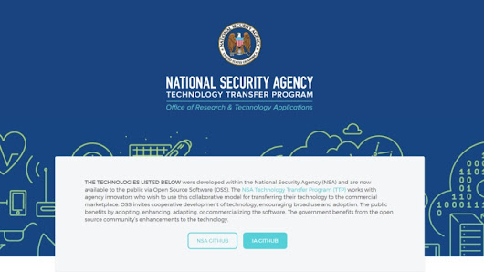 NSA's GitHub Account Has 32 Open Source Projects For People