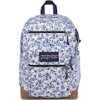 JanSport Cool Student Backpack - White Field Floral