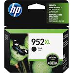 HP 952XL Ink Cartridge, Black - 1-pack