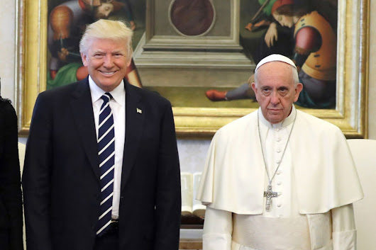 Trump to pope after Vatican meeting: I 'won't forget what you said'