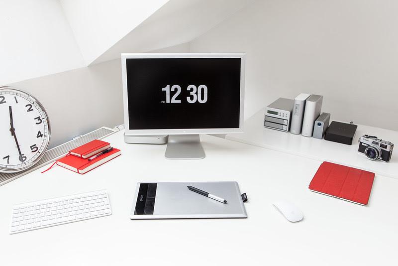 Workspace Inspiration für mich | Wie sieht Dein Büro aus!? ( 4 Bilder )